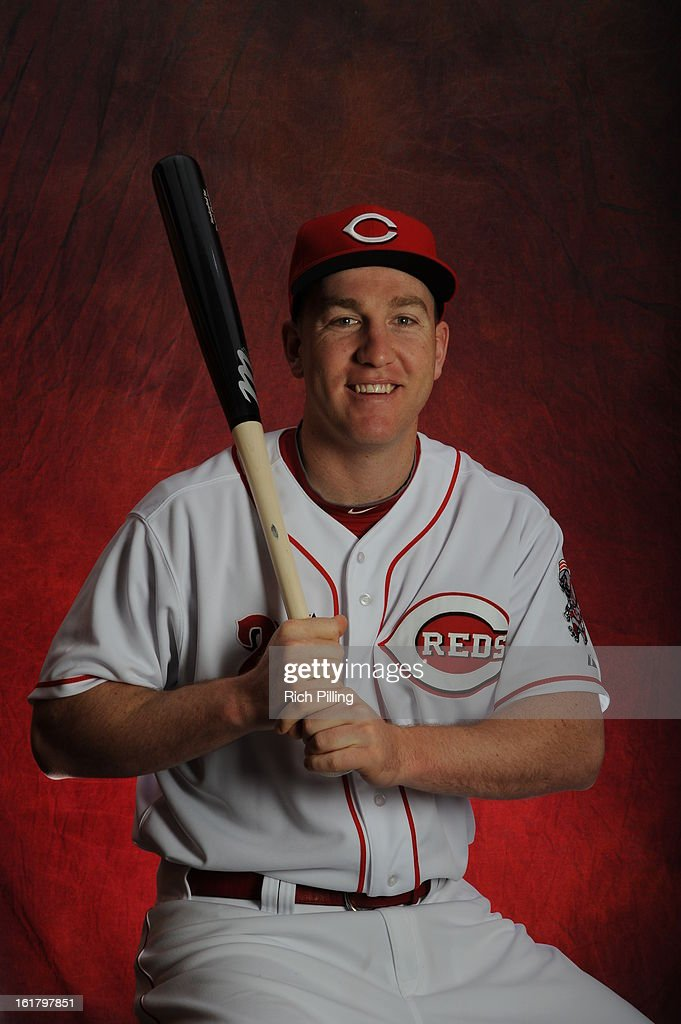 Todd Frazier #21 of the Cincinnati Reds poses during MLB photo day on February 16, 2013 at the Goodyear Ballpark in Goodyear, Arizona.