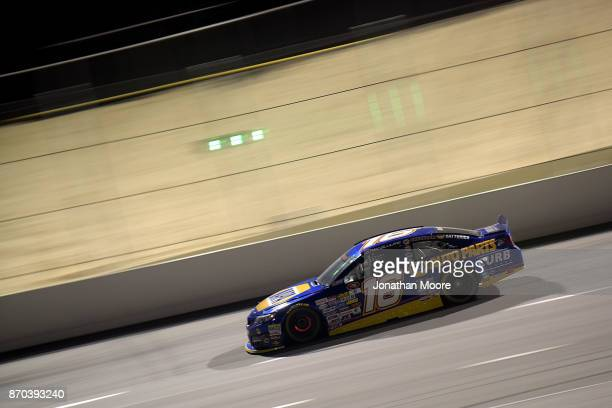 Todd Gilliland driver of the NAPA Auto Parts Toyota on track during the NASCAR KN Pro Series West Coast Stock Car Hall of Fame Championship 150...