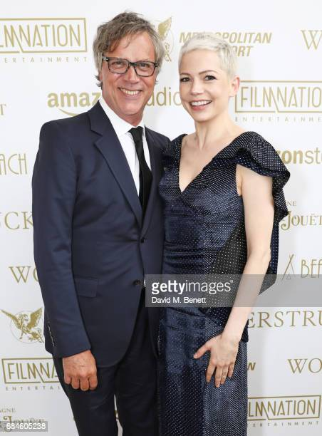 Todd Haynes and Michelle Williams attend the Amazon Studios official after party for 'Wonderstruck' at the iconic Nikki Beach popup venue during the...
