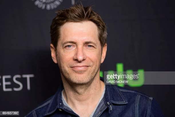 Todd Helbing attends PaleyFest LA at the Dolby Theatre on March 18 2017 in the Hollywood section of Los Angeles California / AFP PHOTO / DAVID MCNEW