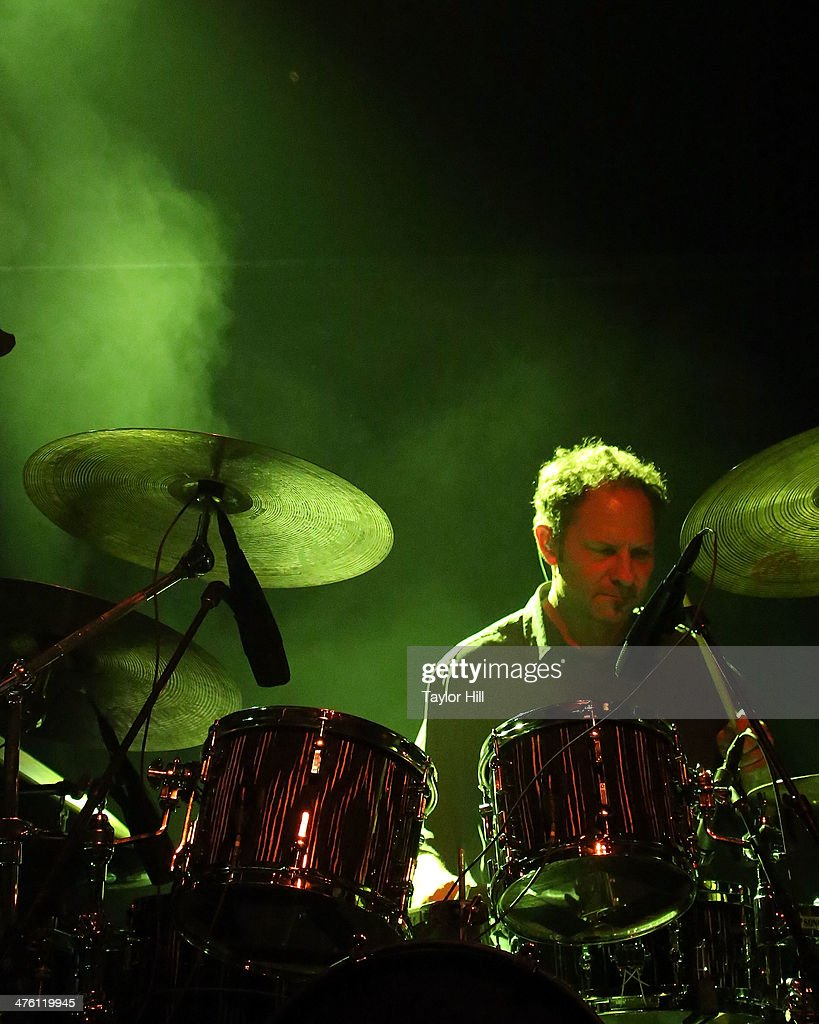 Todd Isler performs with Mike Gordon at Webster Hall on March 1, 2014 in New York City.