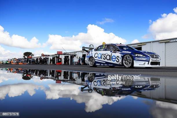 Todd Kelly drives the Carsales Racing Nissan Altima during qualifying for race 9 for the Winton SuperSprint which is part of the Supercars...