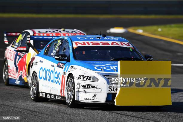 Todd Kelly drives the Carsales Racing Nissan Altima during the Sandown 500 which is part of the Supercars Championship at Sandown International Motor...
