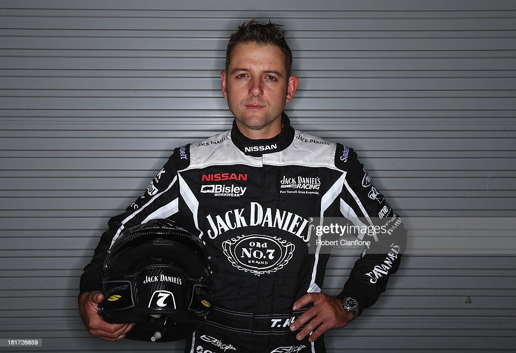 <a gi-track='captionPersonalityLinkClicked' href=/galleries/search?phrase=Todd+Kelly&family=editorial&specificpeople=217740 ng-click='$event.stopPropagation()'>Todd Kelly</a> of Jack Daniels Racing poses during a V8 Supercars driver portrait session at Eastern Creek Raceway on February 15, 2013 in Sydney, Australia.
