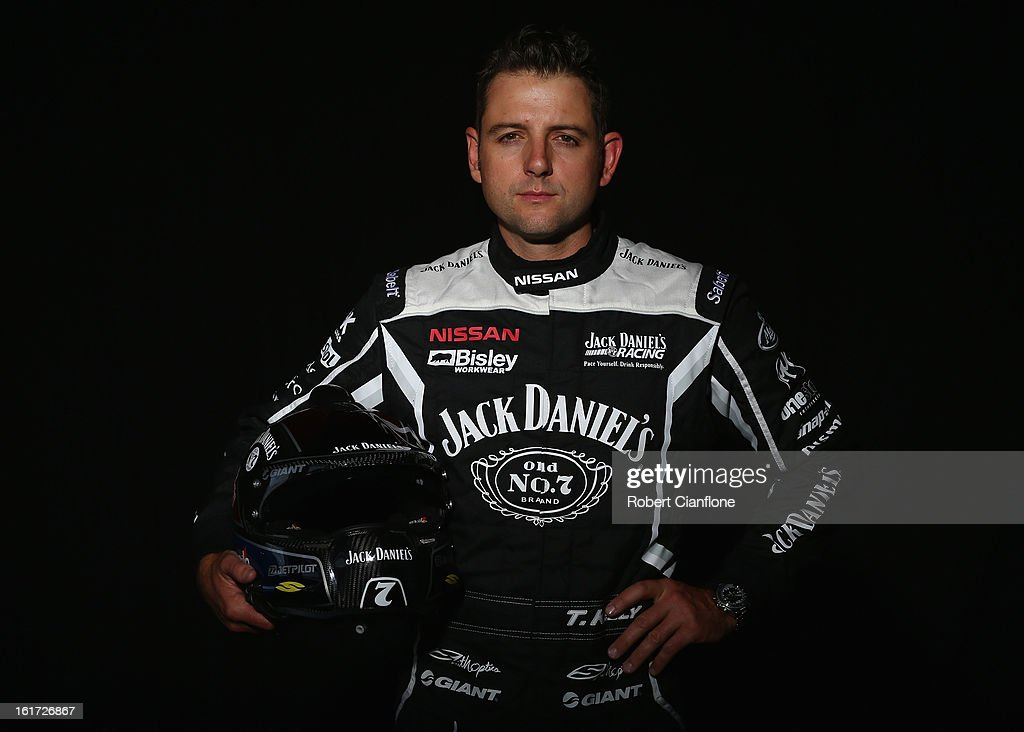 Todd Kelly of Jack Daniels Racing poses during a V8 Supercars driver portrait session at Eastern Creek Raceway on February 15, 2013 in Sydney, Australia.