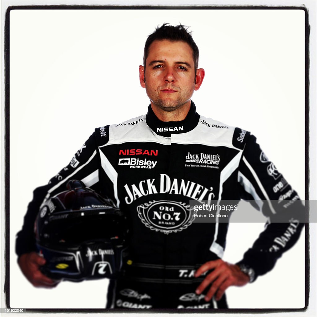 <a gi-track='captionPersonalityLinkClicked' href=/galleries/search?phrase=Todd+Kelly&family=editorial&specificpeople=217740 ng-click='$event.stopPropagation()'>Todd Kelly</a> of Jack Daniel's Racing poses during a V8 Supercars driver portrait session at Eastern Creek on February 15, 2013 in Sydney, Australia.