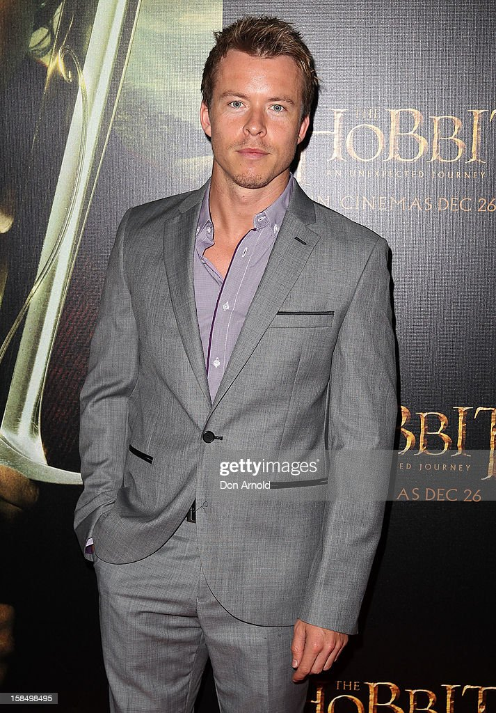 Todd Lasance attends the Sydney premiere of 'The Hobbit: An Unexpected Journey' at George Street V-Max Cinemas on December 18, 2012 in Sydney, Australia.