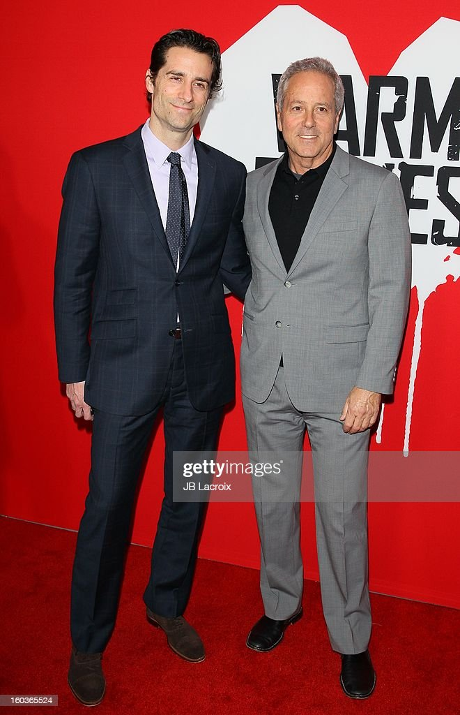 Todd Lieberman and David Hoberman attend the 'Warm Bodies' premiere held at ArcLight Cinemas Cinerama Dome on January 29, 2013 in Hollywood, California.
