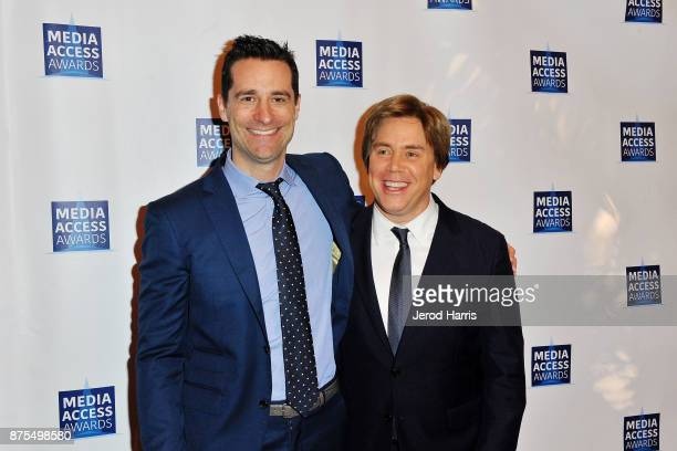 Todd Lieberman and Stephen Chbosky attend the Media Access Awards 2017 at The Four Seasons on November 17 2017 in Beverly Hills California