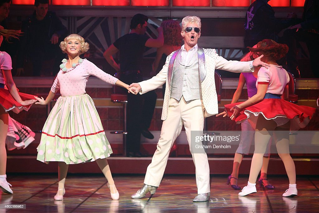 Teen angel performs at the grease musical at the picture id460266962