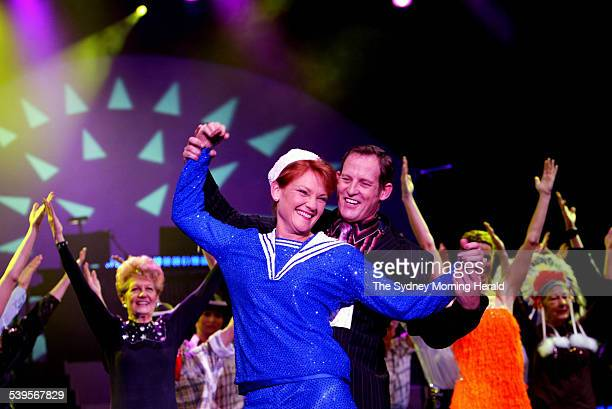 Todd McKenney performing Todd McKenney Live with guest star Pauline Hanson at the Star City Casino Showroom 9 May 2005 SMH Picture by TAMARA DEAN