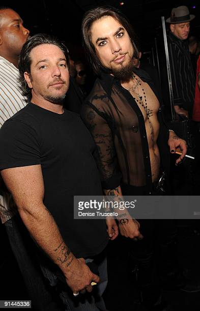 Todd Newman and Dave Navarro 'The Biggest Tattoo Show On Earth' Closing Party at The Bank Nightclub at The Bellagio Hotel and Casino on October 4...