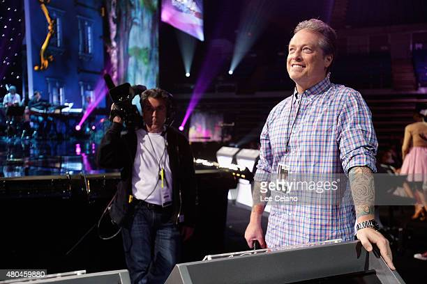 Todd Newton during the 2015 Miss USA Pageant Rehearsals only on the ReelzChannel at The Baton Rouge River Center on July 11 2015 in Baton Rouge...