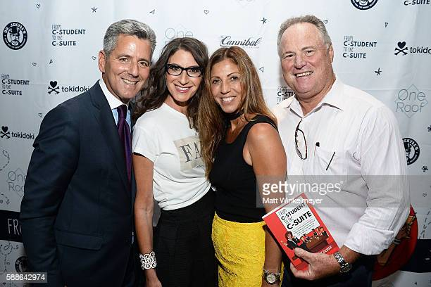 Todd Optican Tami Holzman Rebecca Cocco and Bart Pucci attend the book launch for 'From CStudent to the CSuite Leveraging Emotional Intelligence' at...