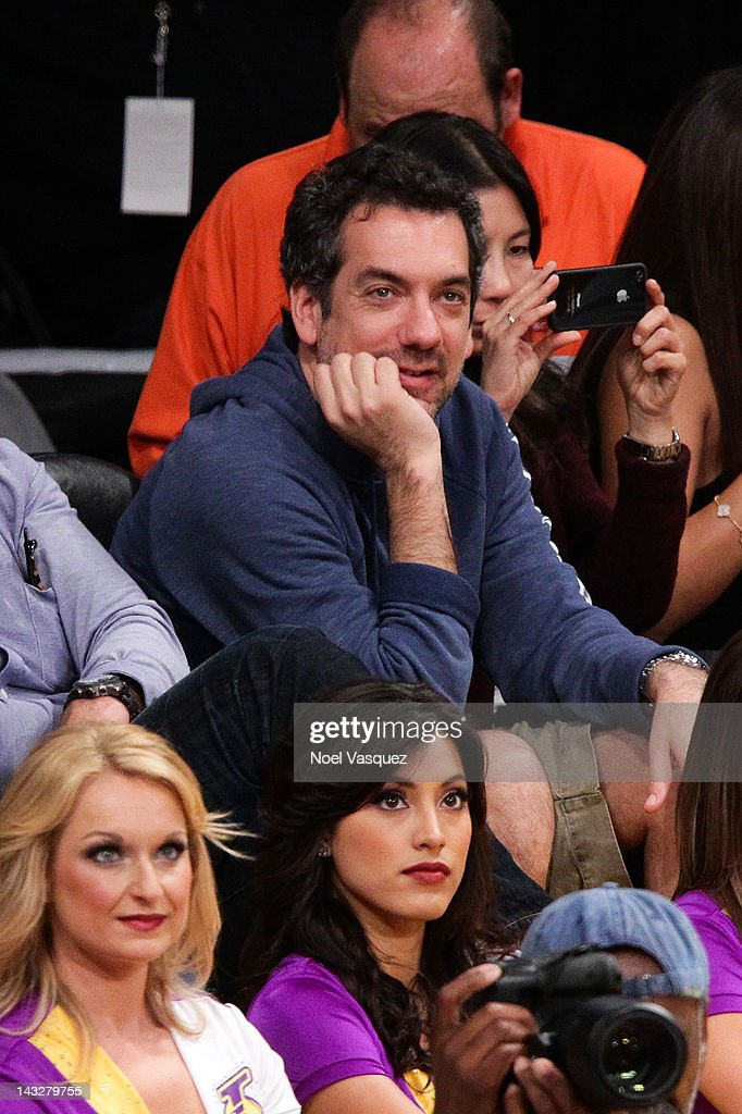 <a gi-track='captionPersonalityLinkClicked' href=/galleries/search?phrase=Todd+Phillips&family=editorial&specificpeople=661998 ng-click='$event.stopPropagation()'>Todd Phillips</a> attends a basketball game between the Oklahoma City Thunder and the Los Angeles Lakers at Staples Center on April 22, 2012 in Los Angeles, California.