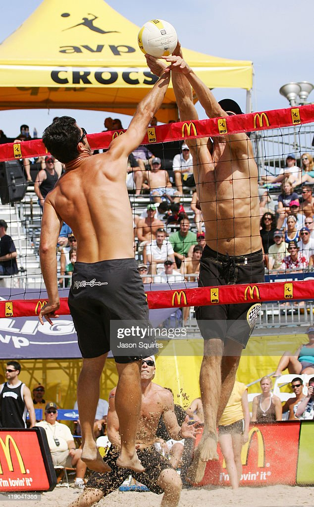 Todd Rogers and Matt Fuerbringer in action during the 2006 Chicago Open