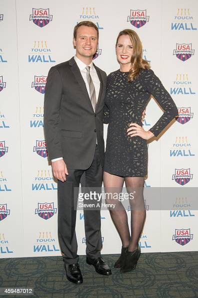 Todd schmitz and kara lynn joyce attend the premiere of touch the