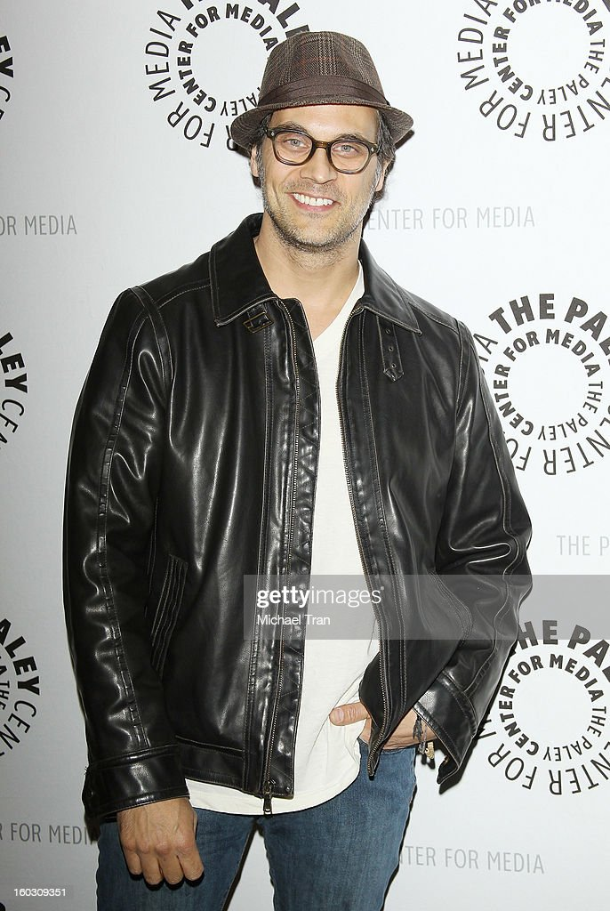 <a gi-track='captionPersonalityLinkClicked' href=/galleries/search?phrase=Todd+Stashwick&family=editorial&specificpeople=2969060 ng-click='$event.stopPropagation()'>Todd Stashwick</a> arrives at The Paley Center for Media and Warner Bros. Home Entertainment host 'Batman: The Dark Knight Returns, Part 2' West Coast premiere held on January 28, 2013 in Beverly Hills, California.