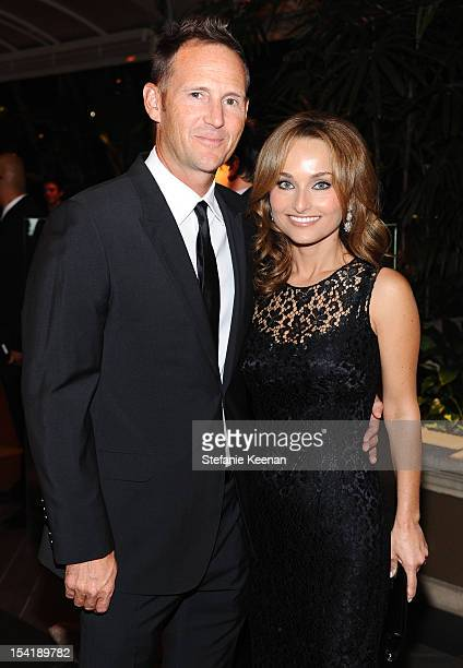 Todd Thompsona and TV personality Giada De Laurentiis attend ELLE's 19th Annual Women In Hollywood Celebration at the Four Seasons Hotel on October...