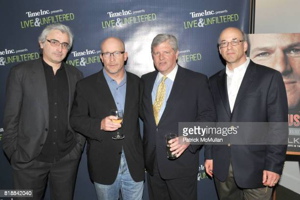 Todd Wider Alex Gibney Mason Speed Sexton and Peter Elkind attend TIME INC Live and Unfiltered Presents ROUGH JUSTICE Hosted by FORTUNE at Time and...