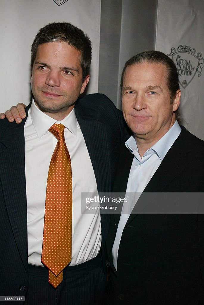 Todd Williams, Jeff Bridges during The National Board of Review Awards Gala at Tavern on the Green in New York, New York, United States.
