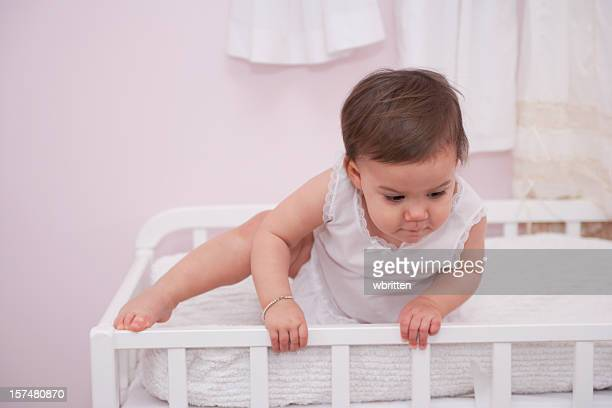 Toddler Climbing out of Crib (XXL)