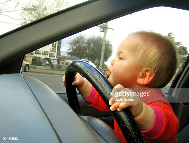 Toddler Driving Car