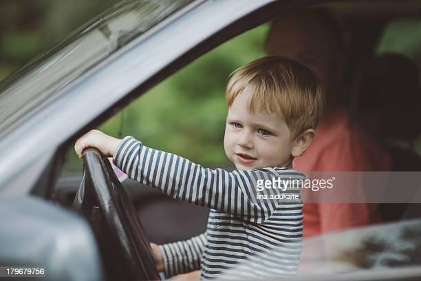 Toddler driving