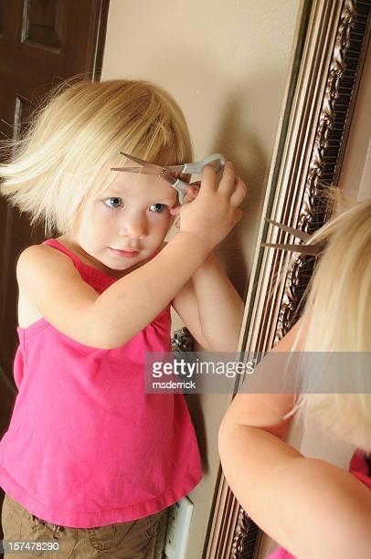 Kleinkinder-Haarschnitt