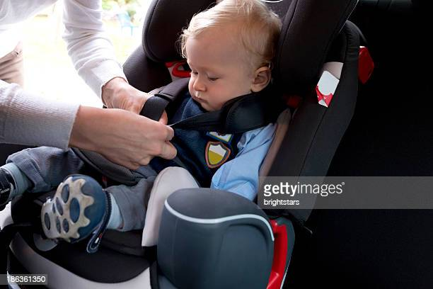Toddler in a car seat