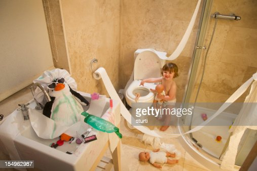 toddler mischief