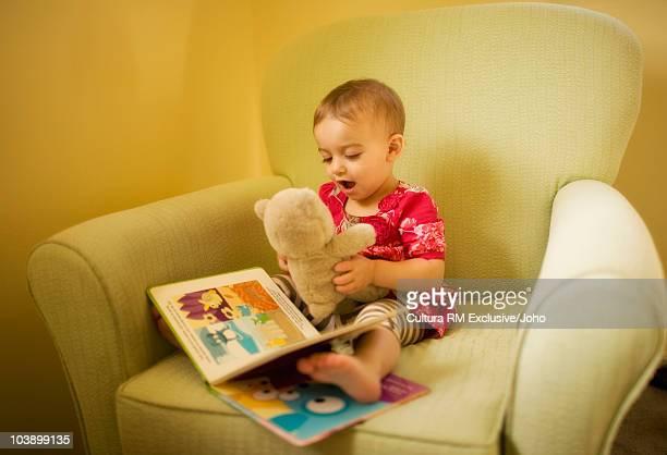 Toddler playing at home