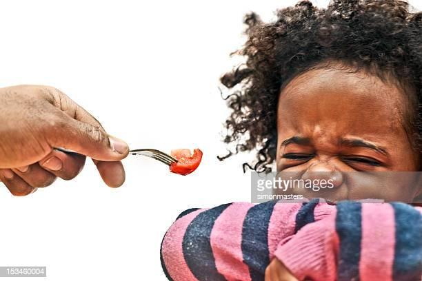 Toddler rifiutare il cibo