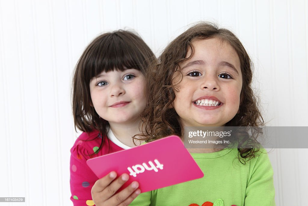 Toddler talk : Stock Photo