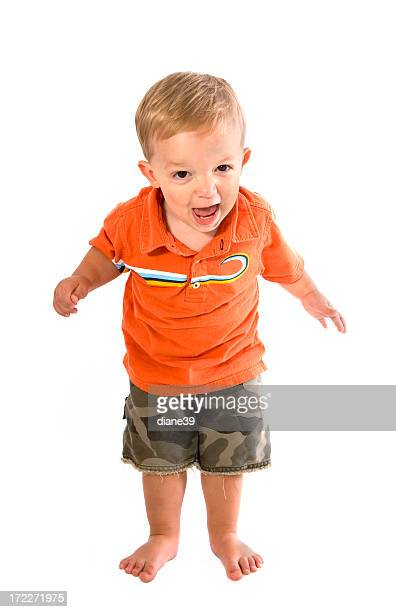 toddler with a temper