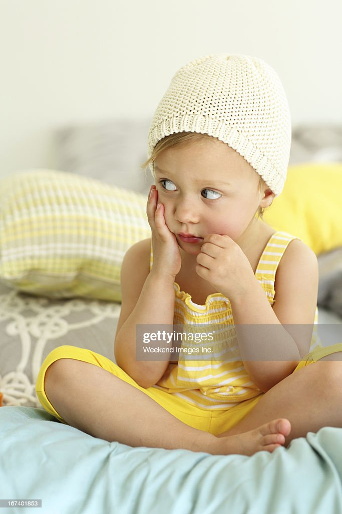 Toddlers fear : Stock Photo