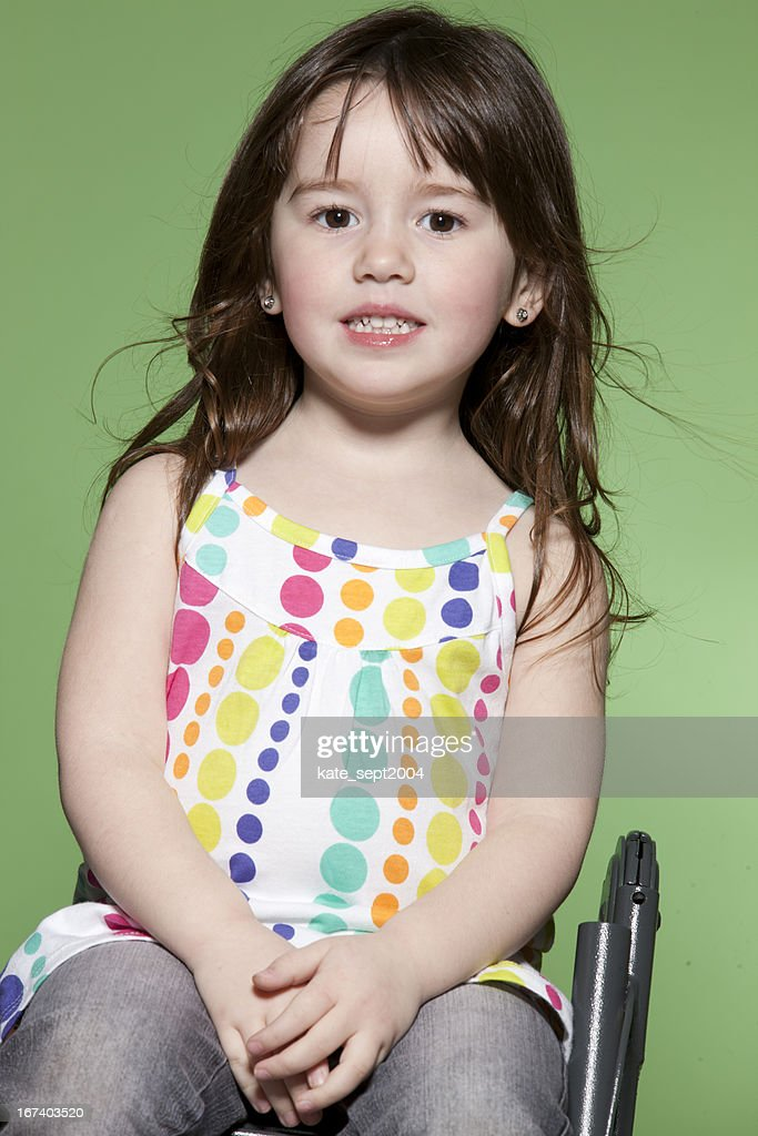 Toddler's portrait : Stock Photo