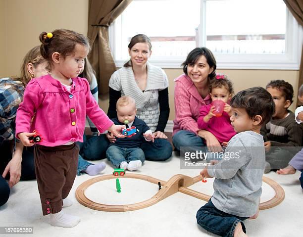 Bambini di condivisione