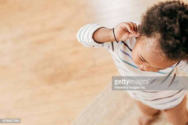 Toddlers tantrum
