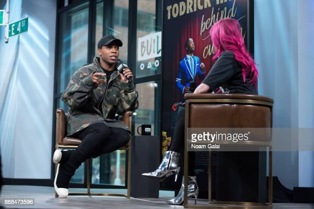 Todrick Hall and Lyndsey Parker visit Build Series to discuss 'Behind The Curtain' at Build Studio on December 8 2017 in New York City