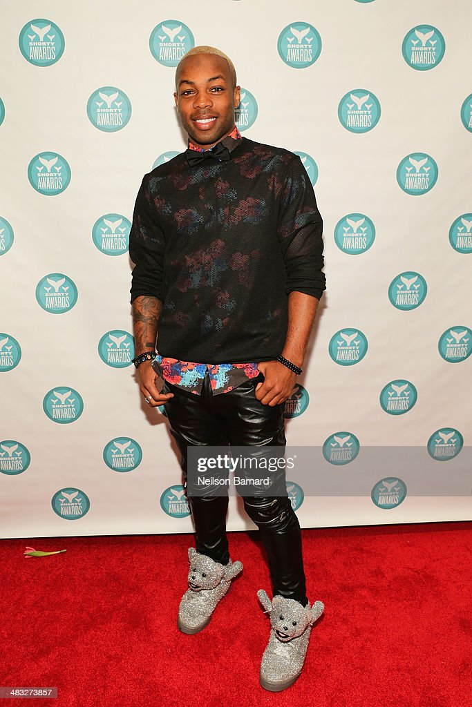 <a gi-track='captionPersonalityLinkClicked' href=/galleries/search?phrase=Todrick+Hall&family=editorial&specificpeople=6735399 ng-click='$event.stopPropagation()'>Todrick Hall</a> attends the 6th Annual Shorty Awards on April 7, 2014 in New York City.