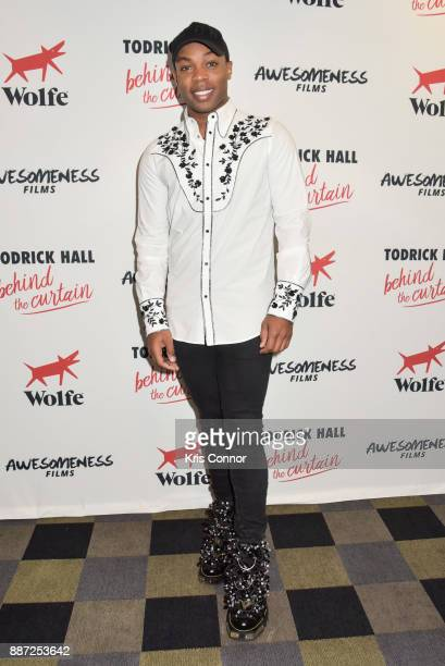 Todrick Hall attends the 'Behind The Curtain Todrick Hall' screening at IFC Center on December 6 2017 in New York City