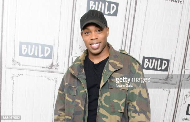Todrick Hall visits Build Series to discuss 'Behind The Curtain' at Build Studio on December 8 2017 in New York City