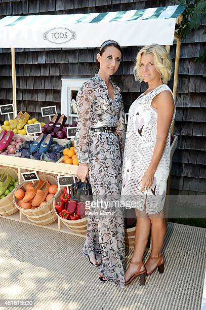 Tod's Creative Director Alessandra Facchinetti and founder of Baby Buggy Jessica Seinfeld attend Alessandra Facchinetti and Jessica Seinfeld's Baby...