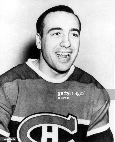 Toe blake of the montreal canadiens poses for a portrait circa 1930 s