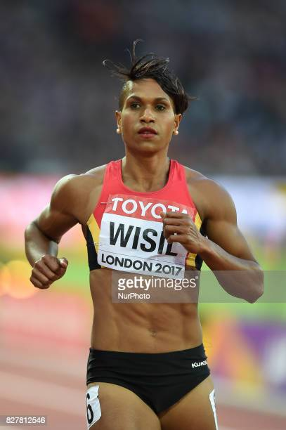 Toea WISIL Papua New Guinea during 200 meter heats in London at the 2017 IAAF World Championships athletics on August 8 2017
