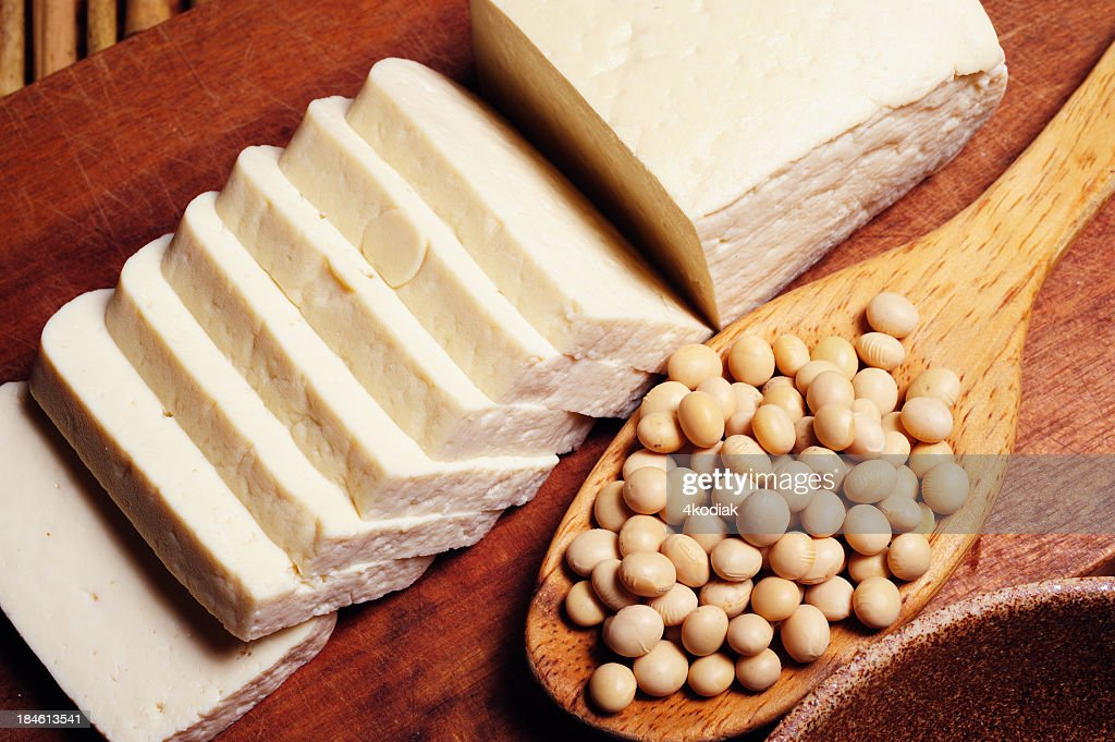 Tofu and Soy Bean : Stock Photo