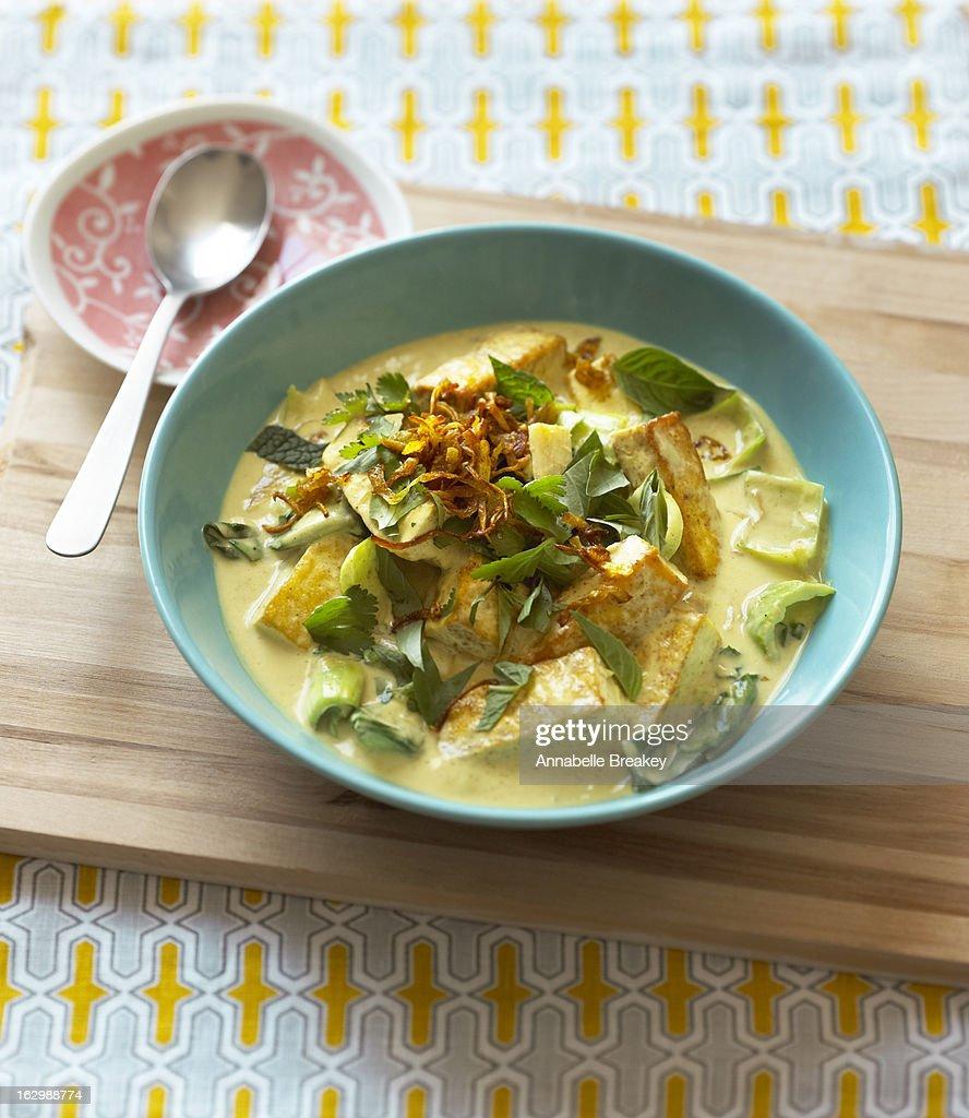 Tofu Curry : Stock Photo