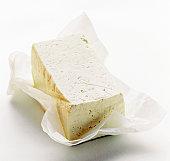 Tofu on White Paper