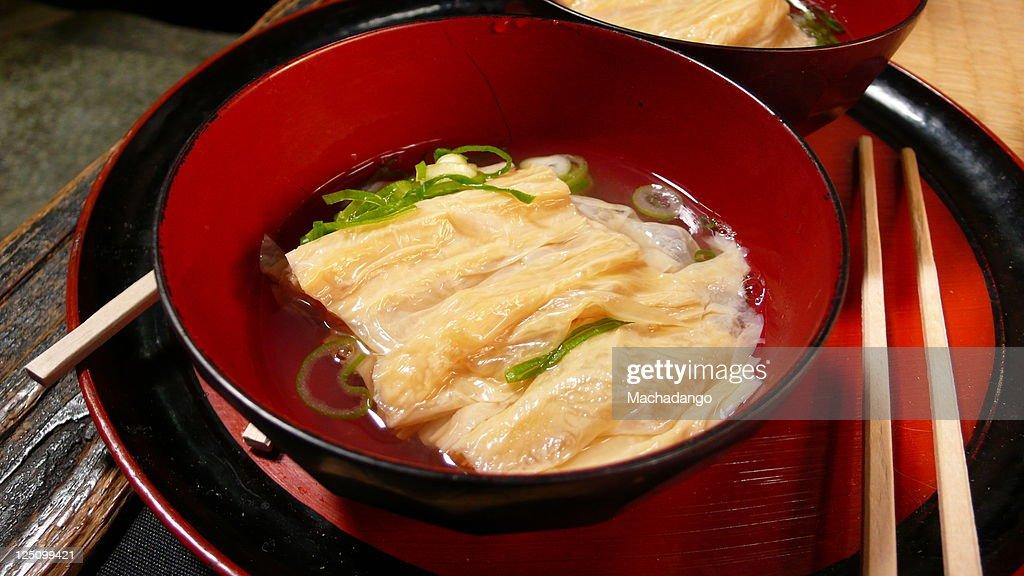 Tofu skin : Stock Photo